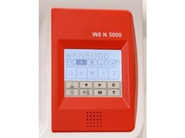 W6 N 5000 Computergesteuerte Nähmaschine mit 323 Programmen - 5
