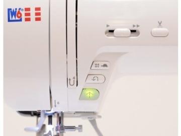 W6 N 5000 Computergesteuerte Nähmaschine mit 323 Programmen - 9