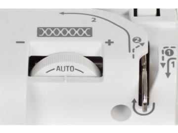 W6 Nähmaschine N 3300 exklusive – Nähen, Patchen, Quilten – 10 Jahre Garantie - 5